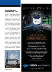 Marine Technology Magazine, page 13,  Jun 2011 China