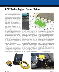 Marine Technology Magazine, page 14,  Jun 2011 tether measuring device