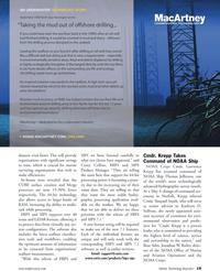 Marine Technology Magazine, page 19,  Jun 2011 Shepard Smith
