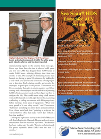 Marine Technology Magazine, page 21,  Jun 2011 manufacturing experts