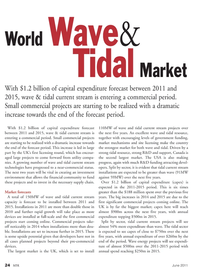 Marine Technology Magazine, page 24,  Jun 2011 tidal current stream technologies