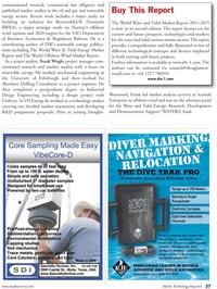 Marine Technology Magazine, page 27,  Jun 2011 renewable energy