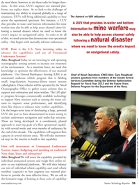 Marine Technology Magazine, page 35,  Jun 2011 Senate Armed Services Committee