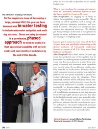 Marine Technology Magazine, page 36,  Jun 2011 Navy
