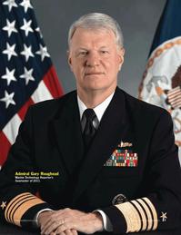 Marine Technology Magazine, page 37,  Jun 2011 Gary Roughead
