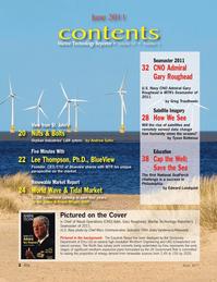 Marine Technology Magazine, page 2,  Jun 2011 Frank Wright