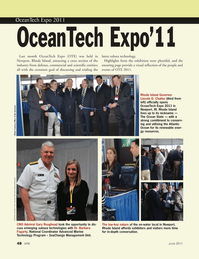 Marine Technology Magazine, page 48,  Jun 2011 Lincoln D. Chafee