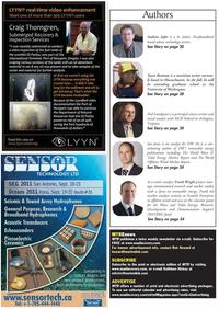 Marine Technology Magazine, page 4,  Jun 2011 Newfoundland