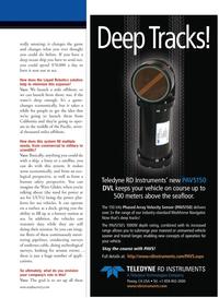 Marine Technology Magazine, page 13,  Jul 2011 California