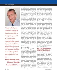 Marine Technology Magazine, page 18,  Jul 2011 civilian and military applications