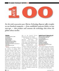 Marine Technology Magazine, page 26,  Jul 2011 Caribbean