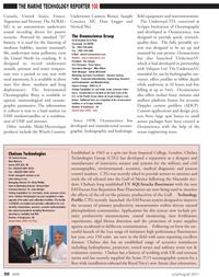 Marine Technology Magazine, page 30,  Jul 2011 West Coast