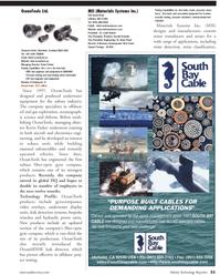 Marine Technology Magazine, page 31,  Jul 2011 Brian Pazol