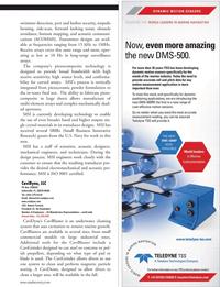 Marine Technology Magazine, page 33,  Jul 2011 Antone FornerisPresident