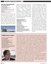 Marine Technology Magazine, page 34,  Jul 2011 multibeam processors
