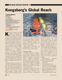 Marine Technology Magazine, page 36,  Jul 2011 manufacturing takes