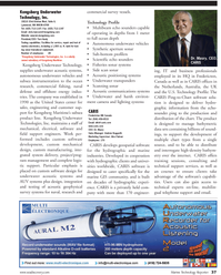 Marine Technology Magazine, page 37,  Jul 2011 Andrew Hoggarth