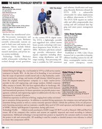Marine Technology Magazine, page 38,  Jul 2011 Mike Langen