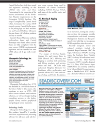 Marine Technology Magazine, page 41,  Jul 2011 Richard D. Haun