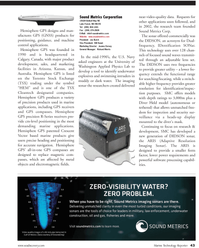 Marine Technology Magazine, page 43,  Jul 2011 Arizona