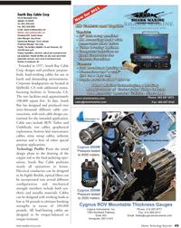 Marine Technology Magazine, page 45,  Jul 2011 purpose applications