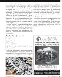 Marine Technology Magazine, page 53,  Jul 2011 David Lo Testing