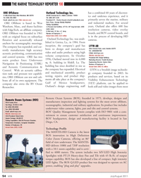 Marine Technology Magazine, page 54,  Jul 2011 inspection and lighting systems