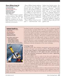 Marine Technology Magazine, page 57,  Jul 2011 Rolf Lueck