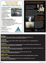 Marine Technology Magazine, page 4,  Jul 2011 advertising rates