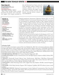 Marine Technology Magazine, page 58,  Jul 2011 Communications Console