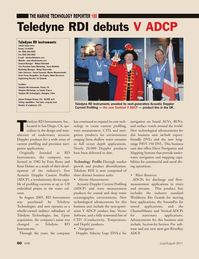 Marine Technology Magazine, page 60,  Jul 2011 Omer Poroy
