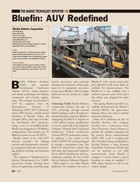 Marine Technology Magazine, page 64,  Jul 2011 Michael C. Donovan