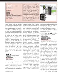 Marine Technology Magazine, page 67,  Jul 2011 RiverSurveyor S5/M9