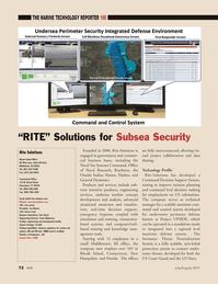 Marine Technology Magazine, page 72,  Jul 2011 New Hampshire