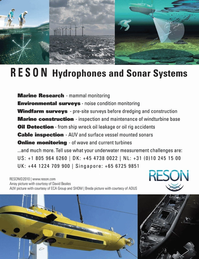 Marine Technology Magazine, page 3rd Cover,  Jul 2011