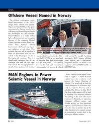 Marine Technology Magazine, page 8,  Sep 2011 Intervention