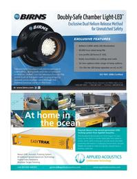 Marine Technology Magazine, page 9,  Sep 2011 Broadband Spread Spectrum technology