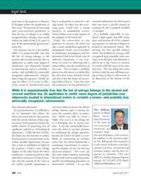 Marine Technology Magazine, page 20,  Sep 2011 itime law