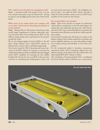 Marine Technology Magazine, page 22,  Sep 2011 oil and gas market