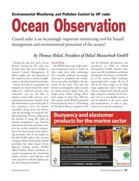 Marine Technology Magazine, page 27,  Sep 2011 Remote Sensing