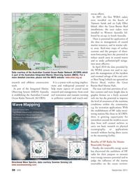 Marine Technology Magazine, page 30,  Sep 2011 Western Australia
