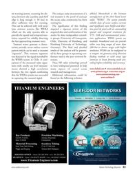 Marine Technology Magazine, page 33,  Sep 2011 Hamburg University of Technology