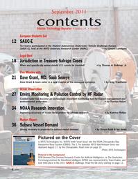 Marine Technology Magazine, page 2,  Sep 2011 Ian JonesPictured