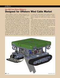 Marine Technology Magazine, page 40,  Sep 2011 water jetting technology