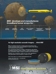 Marine Technology Magazine, page 4th Cover,  Sep 2011