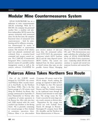 Marine Technology Magazine, page 10,  Oct 2011 Barents sea
