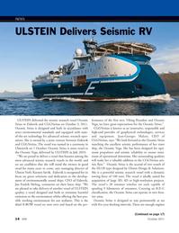 Marine Technology Magazine, page 14,  Oct 2011 Karsten S??vik