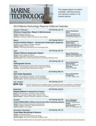 Marine Technology Magazine, page 16,  Oct 2011