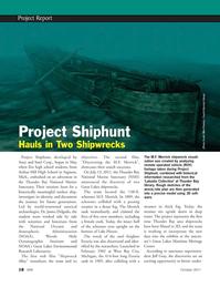 Marine Technology Magazine, page 18,  Oct 2011 Mike Postons