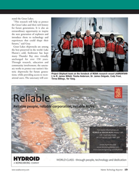 Marine Technology Magazine, page 19,  Oct 2011 James Delgado